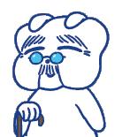 さわやか整骨院イメージキャラクター(おじいちゃん)